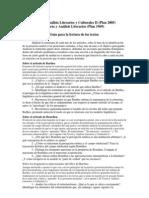 Guías de lectura segundo parcial 2011