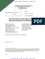 BUFC Disclosure Statement
