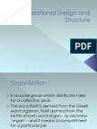 Organizational Design and - Copy