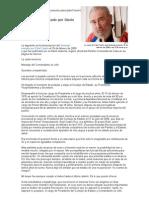 Carta renuncia Castro