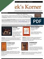 Kordek's Korner Oct 20, 2011