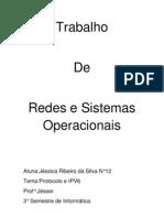 Trabalho de Redes e Sistemas Operacionais