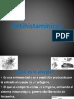 CLASE   8 MEDICMENTOS ANTIHISTAMINICOS