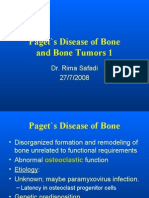 Paget`s Disease of Bone and bone tumors1