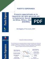 Presentación de lo que es Puerto Esperanza