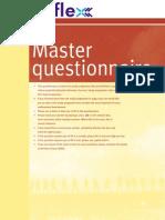 REFLEX Master Questionnaire Layout