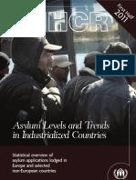 Unhcr Asylum Trends Report Ottobre 2011