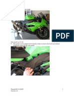 2009 ZX6R Fairing Removal v1.0