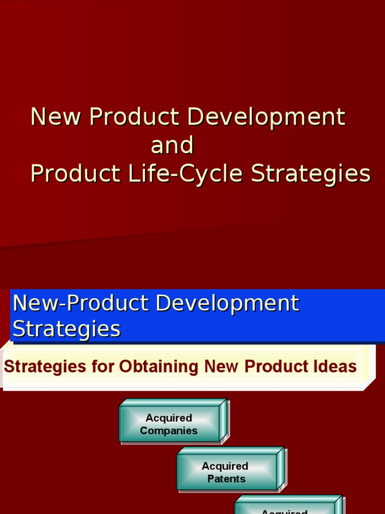 New pdt plc new product development product business for Company product development