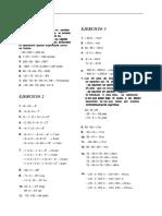 Algebra de Baldor (Ejercicios Resueltos