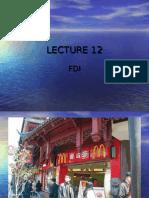 lecture 12,FDI - new