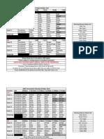 QND Tourney Schedule Oct 21st