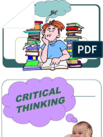 Critical-thinking Very Good