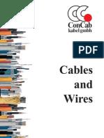 ConCab kabel gmbh Main Catalouge english 2005