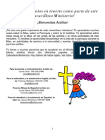 Altar Server Training Material (Spanish)
