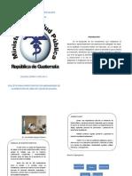 Folleto de Inducción Recursos Humanos, Area de Salud de Jalapa, Guatemala