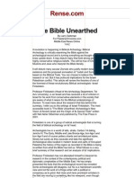 The Bible Unearthed Review Www-rense-com