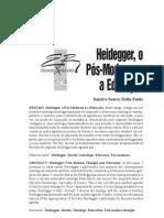 heidegger, o pos moderno e a educação