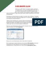 INSTALACIÓN DE UBUNTO 11.04