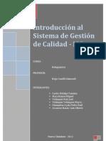 Introducción al Sistema de Gestion de Calidad_informe final