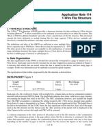 Dallas AN114 1-Wire File Structure