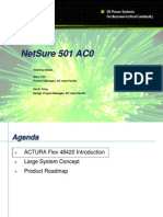 Sales Training Slides - NetSure 501 AC0 (Actura Flex 48420)