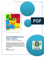 Mantenimiento de Una Planta do
