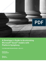 Whitepaper A Developers Guide to Accelerating Microsoft Excel Models With Platform Symphony