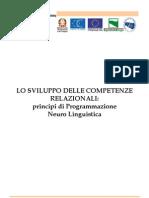 Lo Sviluppo Delle Competenze Relazionali - PNL