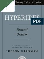 Herrman (2009) - Hyperides Funeral Oration