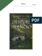 Charlotte Link - Después del silencio