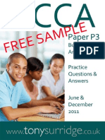 2011 Paper P3 QandA Sample Download v2