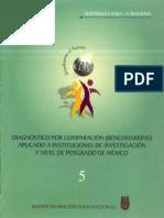 DIAGNÓSTICO POR COMPARACIÓN (BENCHMARKING) APLICADO A INSTITUCIONES DE INVESTIGACIÓN Y NIVEL DE POSGRADO DE MEXICO
