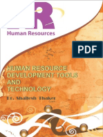 Human Resource Development Tools and Technology