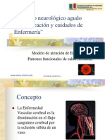 Deterioro neurologico agudo