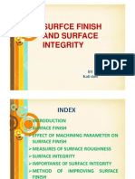 Surface Finish and Surface Integrity [Compatibility Mode]