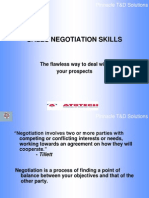 Sales Negotiation Skills