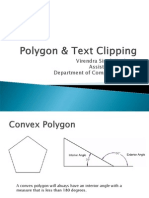 Polygon & Text Clipping