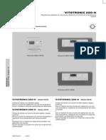 Centralita Regulación de la Calefacción_DT_181_Vitotronic 200_H