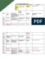 Cfad Week Activities 2011 Calendar