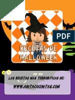 Recetas de Halloween de Anita Cocinitas