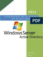 Integración de equipos Active Directory