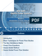 Module 6 Introduction to Power Flow Studies