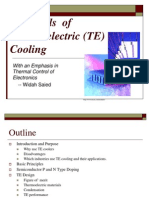 Thermoelectric Cooling Ravi