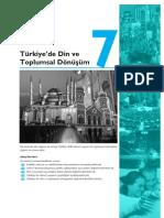Türkiyenin toplumsal Yapısı ünite07