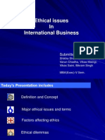 Ehical Issues in International Business2