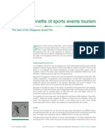Tutorial - Week06 Cost and Benefit of Sports Events