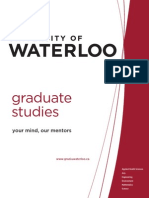 2009 Grad Studies Brochure