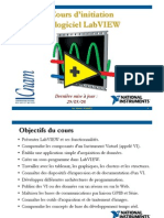 Cours d'Initiation Labview