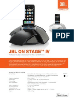 Specification Sheet - On Stage IV (English)_c584